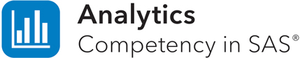 Analytics Competency in SAS wordmark