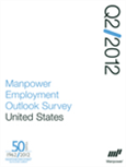 Manpower Employment Outlook Survey - United States Q2 2012